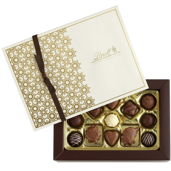 Lindt Gourmet Truffles and Pralines Gift Box