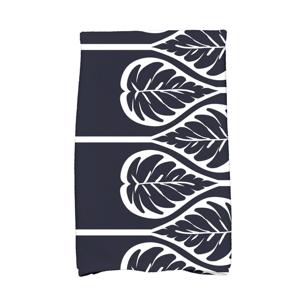 16 x 25-inch, Fern 2, Floral Print Kitchen Towel
