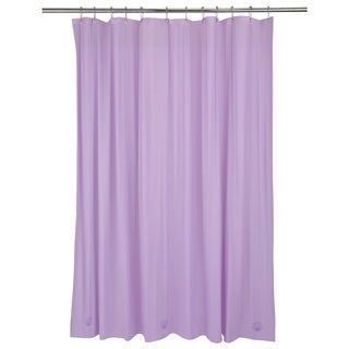 Bath Bliss Heavy Grommet Lilac Shower Liner