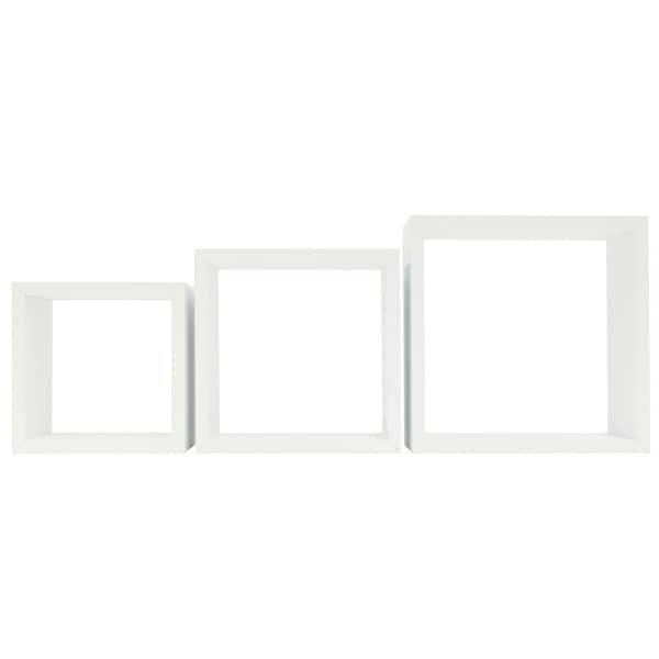 White Storage Cube Kit (Pack of 3)