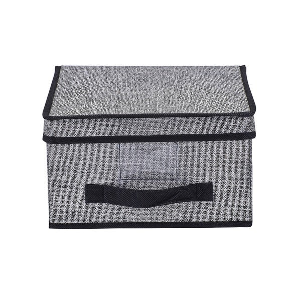 Simplify Black Medium Storage Box