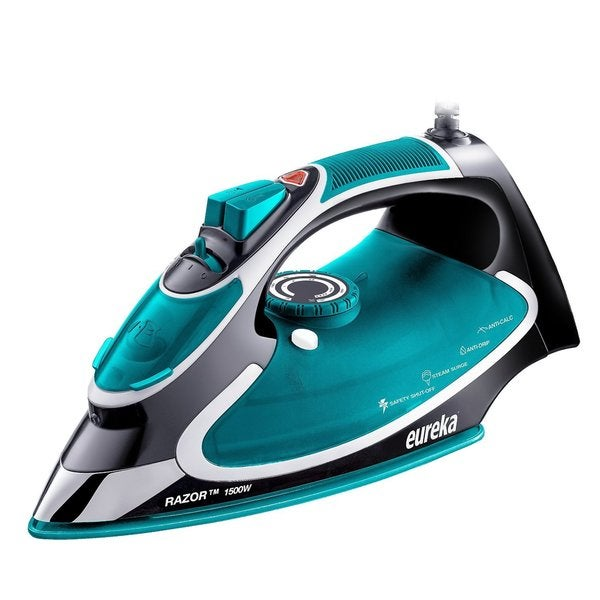 Eureka Razor 1500-watt Steam Iron with Pouch