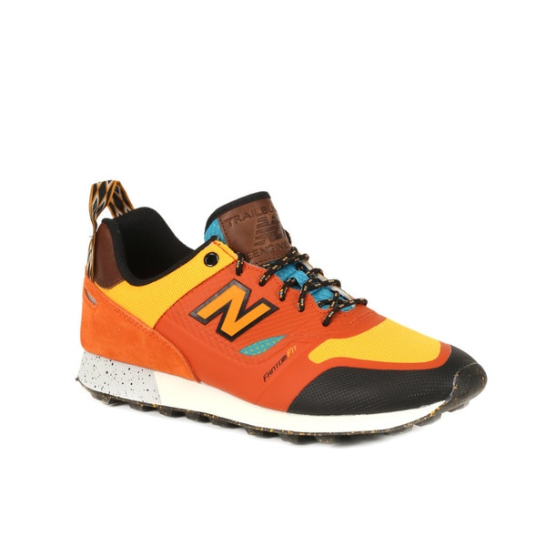 New Balance Pumpkin with Chromatic Yellow Trailbuster Re-Engineered