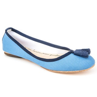 Sole9 Angel Ballet Collection Canvas Upper Leather Flats