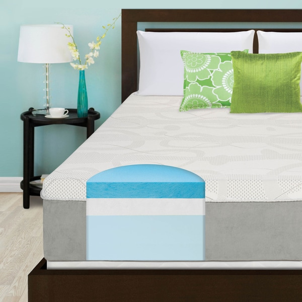Slumber Solutions Choose Your Comfort 14-inch California King-size Gel Memory Foam Mattress