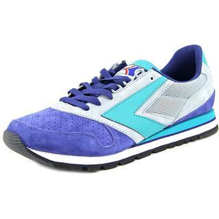 Brooks Heritage Men's 'Chariot' Blue Regular Suede Athletic Shoes