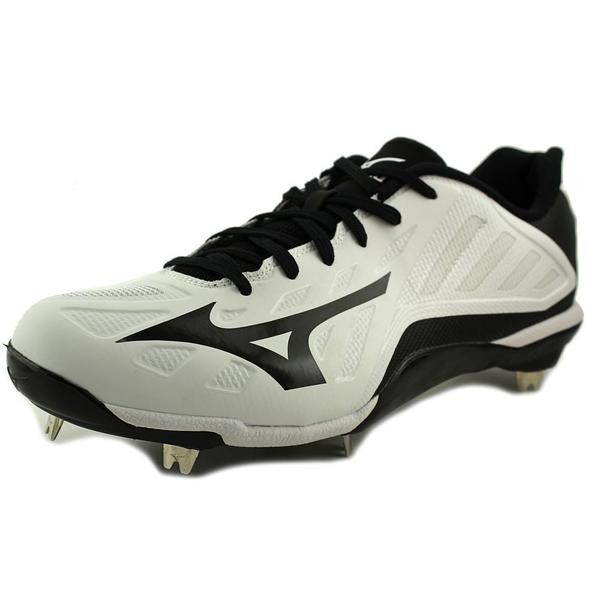 Mizuno Men's 'Heist IQ' White Leather Athletic Shoes