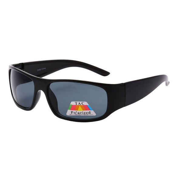 Epic Eyewear Men's Sporty Square-frame UV400 Sunglasses