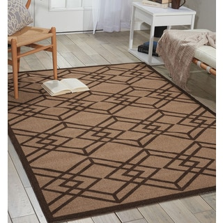 Nourison Enhance Latte Area Rug (8' x 10')