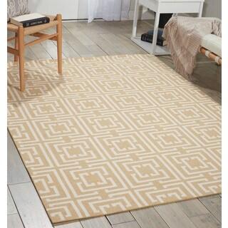 Nourison Enhance Tan Area Rug (8' x 10')