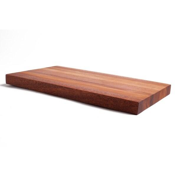 The Footman Bloc Mahogany Cutting Board