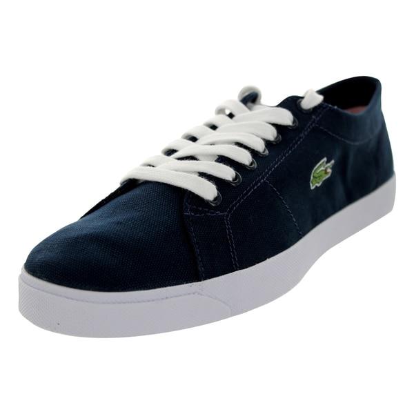 Lacoste Men's Marcel Aur Spm Cnv Dark Blue/Dark Blue Casual Shoe