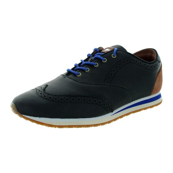 Lacoste Men's Denshaw Stm Black/Brw Casual Shoe