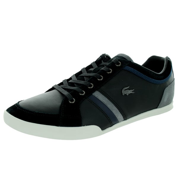 Lacoste Men's Rayford Srm Black/Dark Blue Casual Shoe