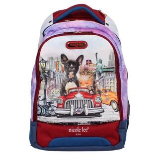 Nicole Lee 20.5-inch Leona City Drive Rolling Laptop Backpack