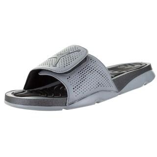 Nike Jordan Men's Jordan Hydro 5 Cool Grey/ Hematite/Black Sandal