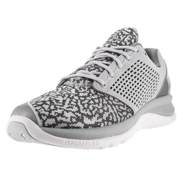 Nike Jordan Men's Jordan Trainer St Wolf Grey/White/Grey Basketball Shoe