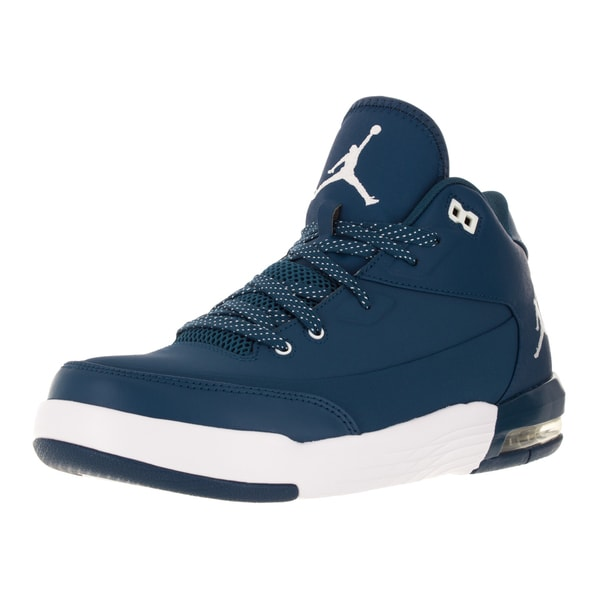 Nike Jordan Men's Jordan Flight Origin 3 French Blue/White/French Blue Basketball Shoe