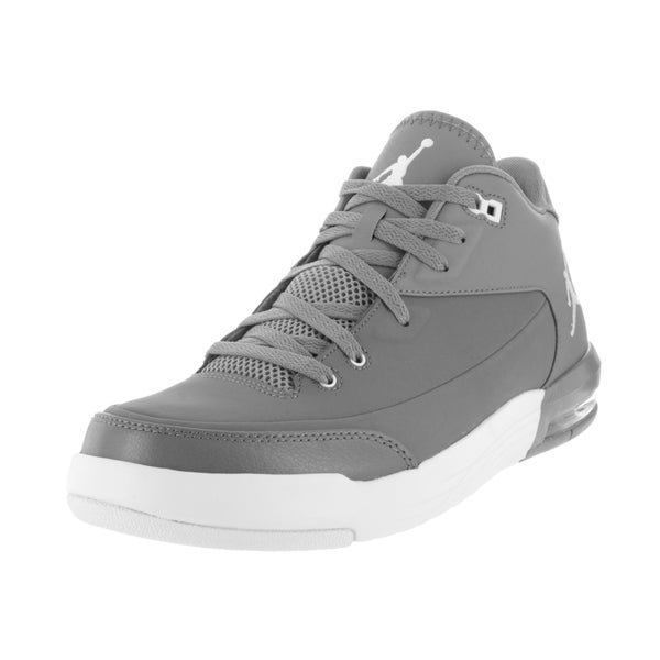 Nike Jordan Men's Jordan Flight Origin 3 Cool Grey/White/Black Basketball Shoe