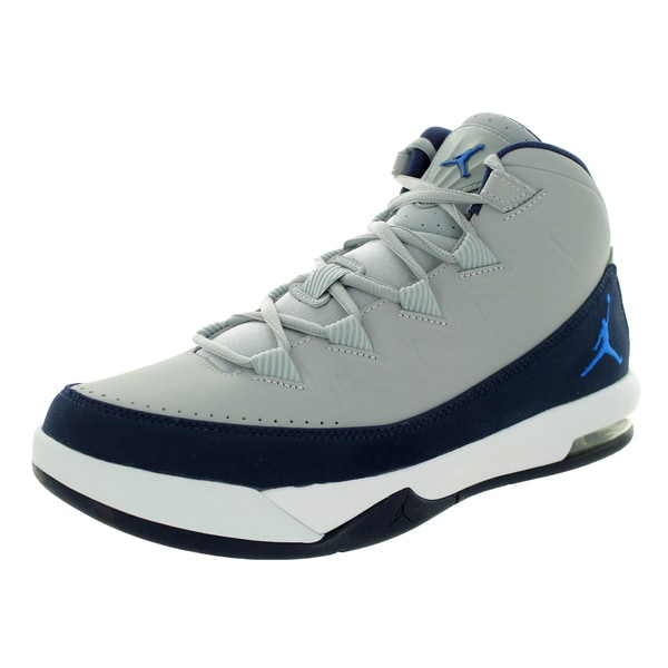 Nike Jordan Men's Jordan Air Deluxe Wolf Grey/Soar/Mid Navy/White Basketball Shoe