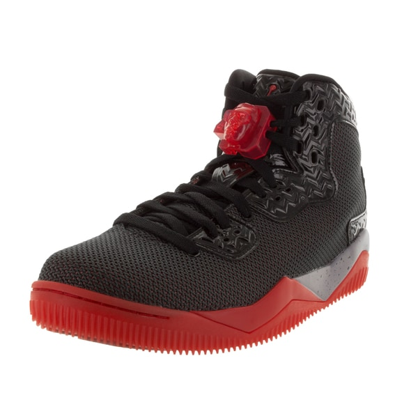 Nike Jordan Men's Air Jordan Spike Forty Pe Black/Fire Red/ Grey Basketball Shoe