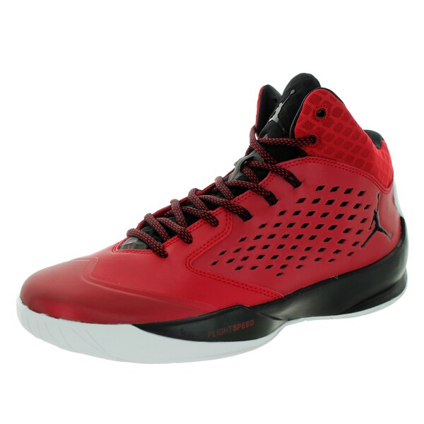 Nike Jordan Men's Jordan Rising High Gym Red/Black/White Basketball Shoe
