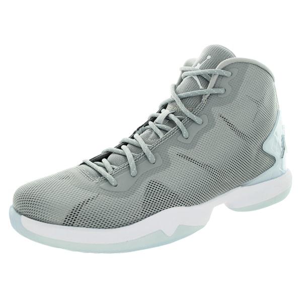 Nike Jordan Men's Jordan Super.Fly 4 Wlf /Dark Grey/White/Infrrd2 Basketball Shoe 19824986