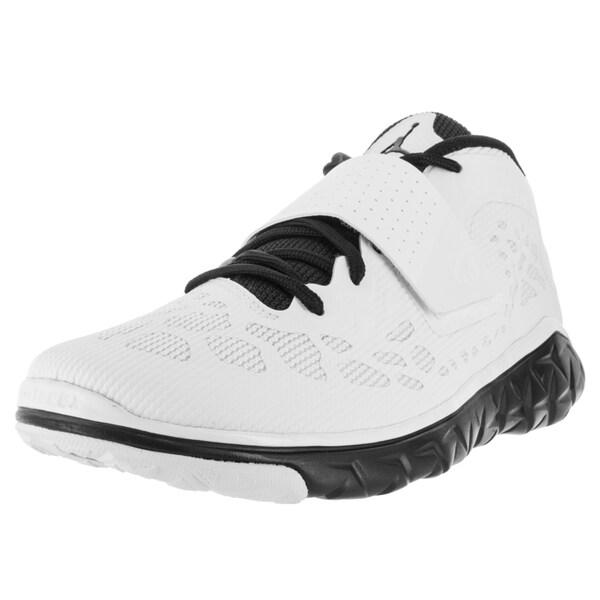Nike Jordan Men's Jordan Flight Flex Trainer 2 Black/White/Black Basketball Shoe