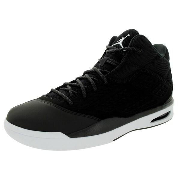 Nike Jordan Men's New School Black/White/Black Basketball Shoe