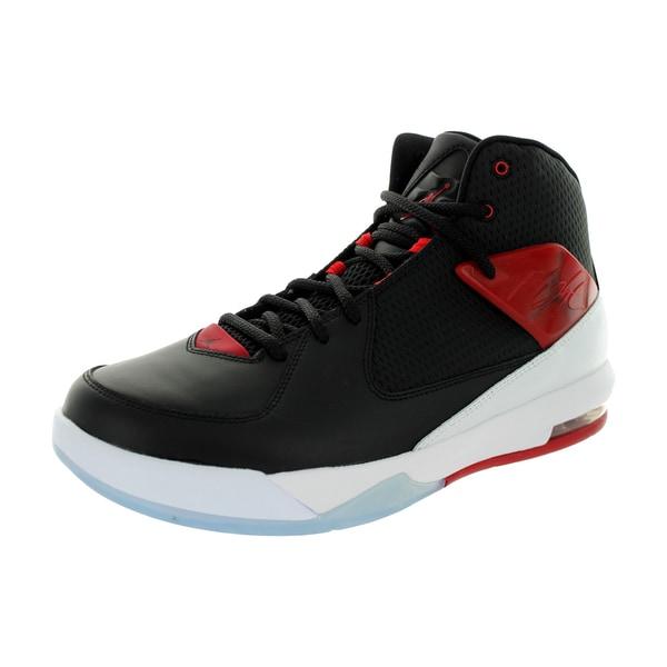 Nike Jordan Men's Jordan Air Incline Black/Gym Red/White Basketball Shoe