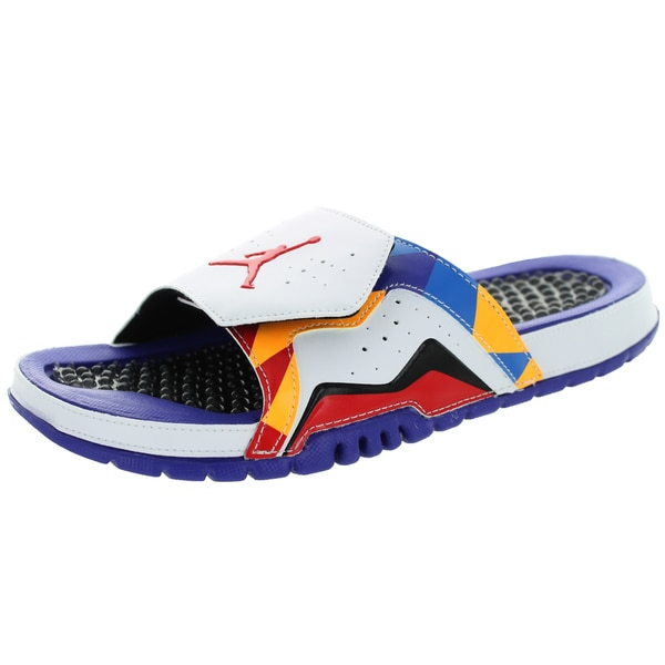 Nike Jordan Men's Jordan Hydro Vii Retro White/University Red/d/Lsr Sandal
