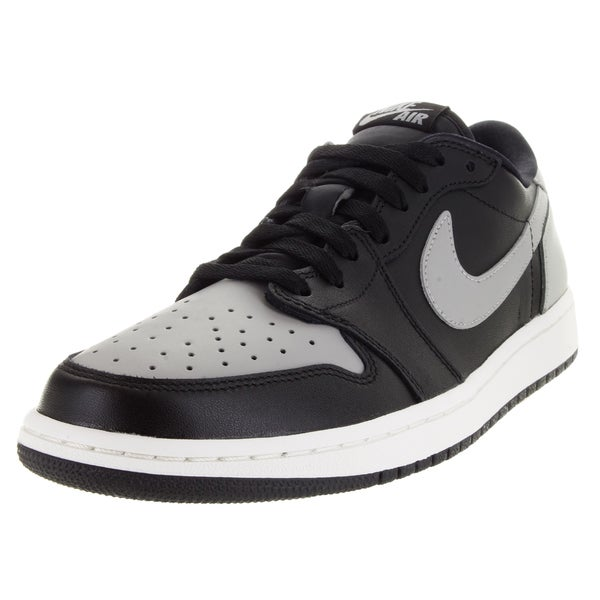 Nike Men's Air Jordan 1 Retro Low Og Black/Medium Grey/Sail Basketball Shoe