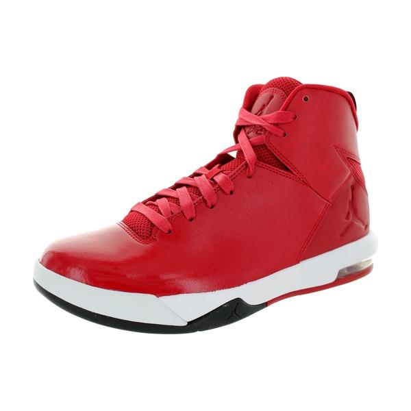 Nike Jordan Men's Jordan Air Imminent Gym Red/Black/White Basketball Shoe