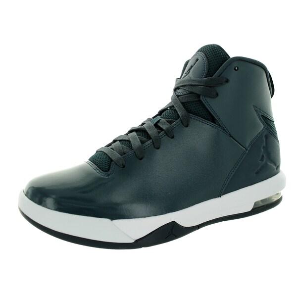 Nike Jordan Men's Jordan Air Imminent Classic Charcl/Black/White Basketball Shoe