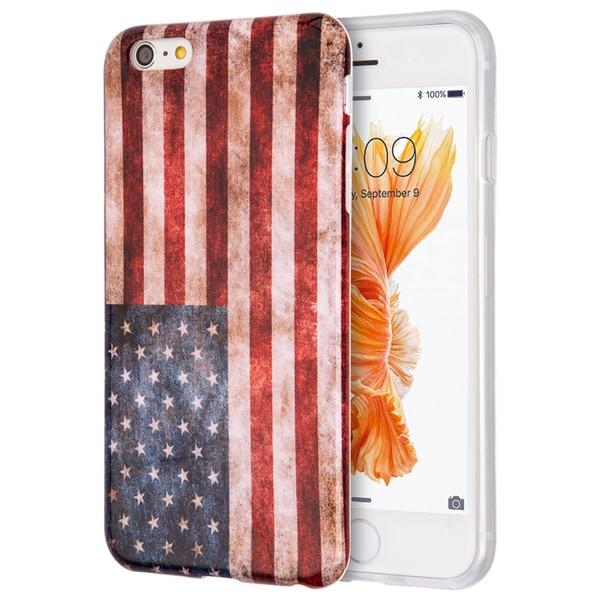 Apple Iphone 6/6S Plus Patriotic Vintage Flag Series IMD TPU Case 19825417