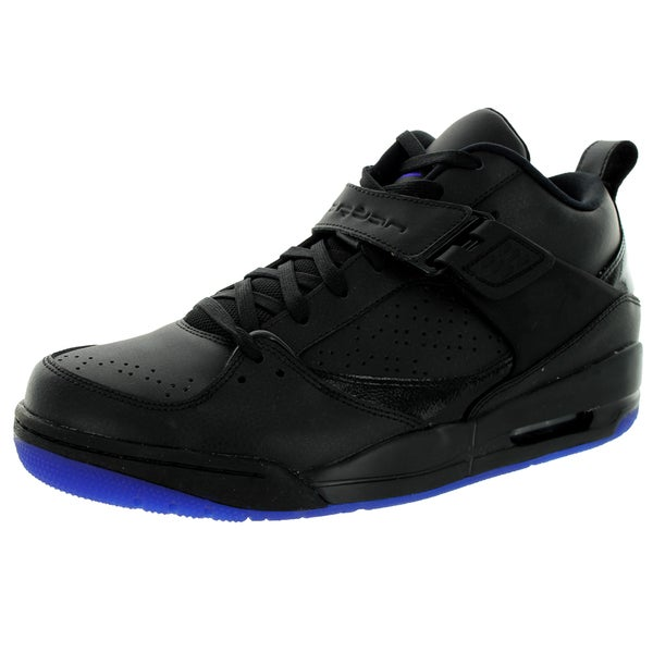 Nike Jordan Men's Jordan Flight 45 Prem Black/Dark Concord Basketball Shoe