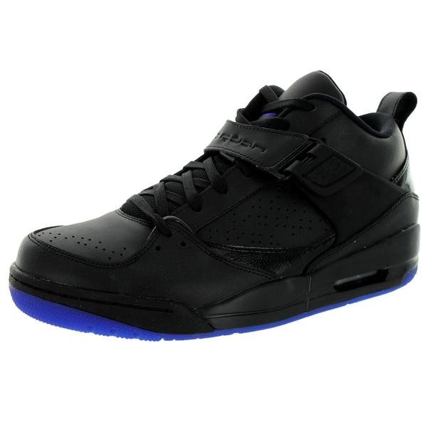 Nike Jordan Men's Jordan Flight 45 Prem Black/Dark Concord Basketball Shoe