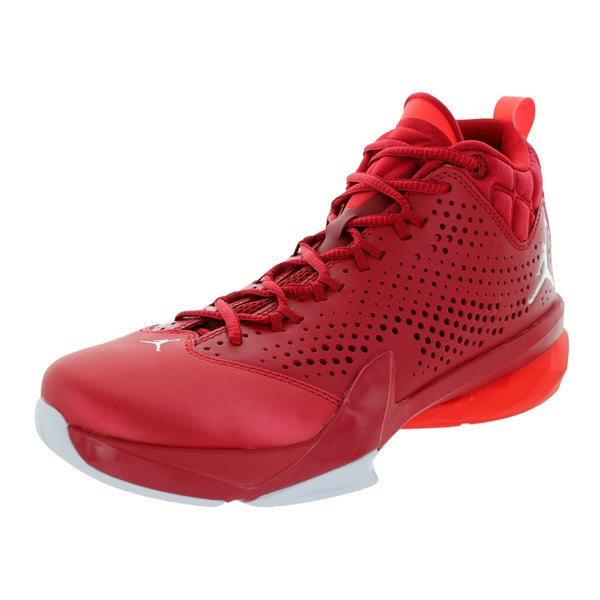 Nike Jordan Men's Jordan Flight Time 14.5 Gym Red/White/Infrared 23/White Basketball Shoe