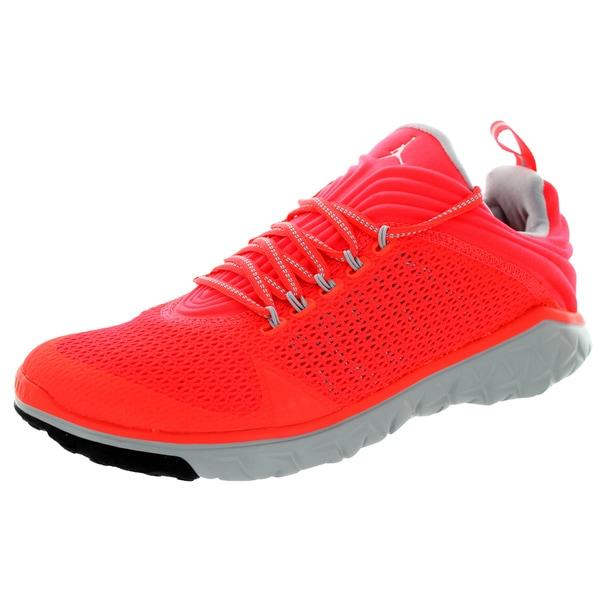 Nike Jordan Men's Jordan Flight Flex Trainer Infrared 23/White/Wolf Grey Training Shoe
