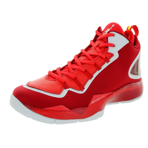 Nike Jordan Men's Jordan Super.Fly 2 Po Gym Red/White/Challenge Red Basketball Shoe