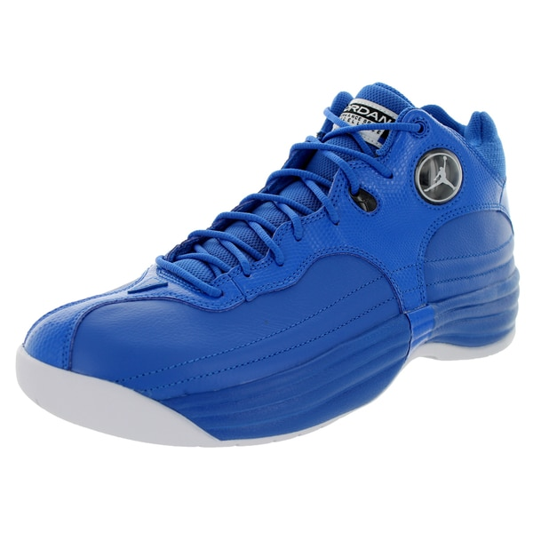 Nike Jordan Men's Jordan Jumpman Team 1 Sport Blue/White/Black Basketball Shoe
