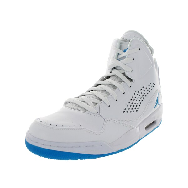 Nike Jordan Men's Jordan Sc-3 Prem White Powder Blue Basketball Shoe