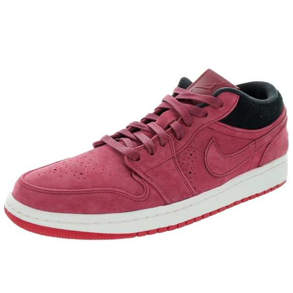 Nike Jordan Men's Air Jordan 1 Low Nouv Team Red/Team Red/Gym Red/Black Basketball Shoe