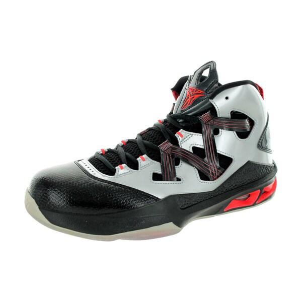 Nike Jordan Men's Jordan Melo M9 Metallic Silver/Metallic Silver/Black/Brg Basketball Shoe