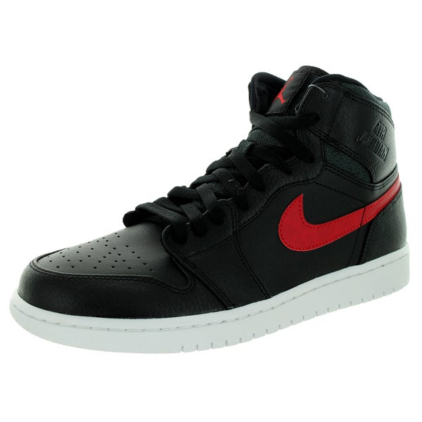 Nike Jordan Men's Air Jordan Retro High Black/Gym Red/Black/White Basketball Shoe