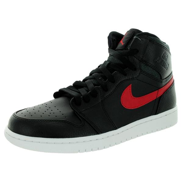 Nike Jordan Men's Air Jordan Retro High Black/Gym Red/Black/White Basketball Shoe