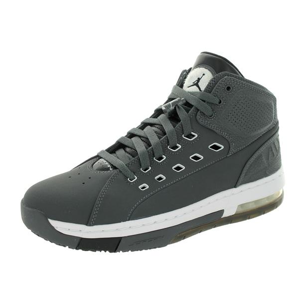 Nike Jordan Men's Jordan Ol'School Dark Grey/White/Black/White Basketball Shoe