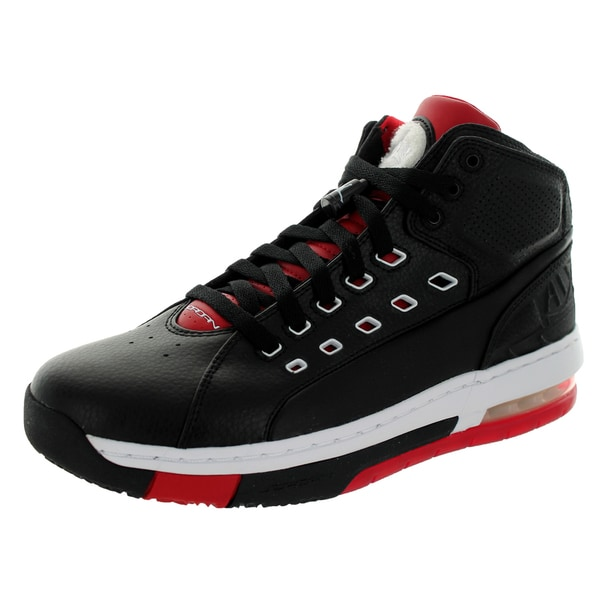 Nike Jordan Men's Jordan Ol'School Black/White/Gym Red Basketball Shoe