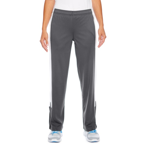 Elite Women's Performance Fleece Graphite/White Sport Pants 19826462