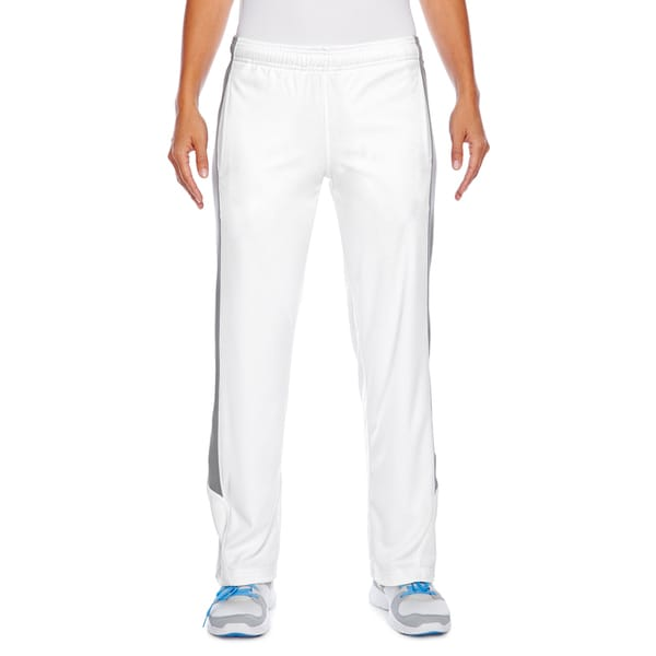 Elite Women's White/Sport Graphite Fleece Performance Pant